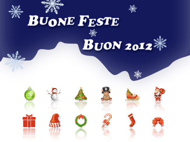 Buone Feste e Buon 2012