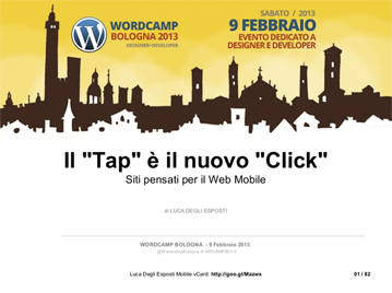 Best Practices per il Mobile Web